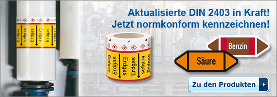 RKZ - Neue DIN 2403 in Kraft