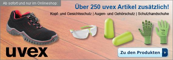 über 250 neue uvex Produkte